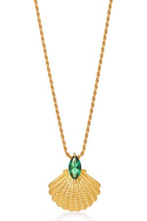 V by Laura Vann Pamela 18kt -plated necklace