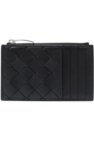 Bottega Veneta Intrecciato leather zip cardholder
