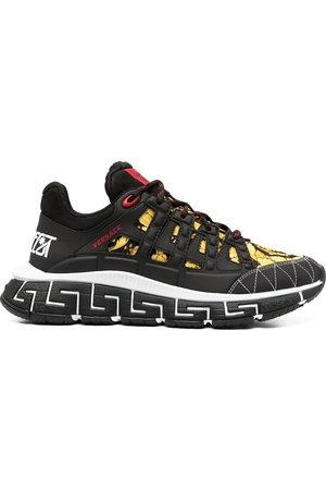 VERSACE Men Sneakers - Trigreca baroque-print sneakers