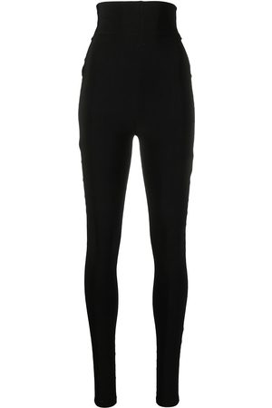 Atu Body Couture High-waisted jersey leggings