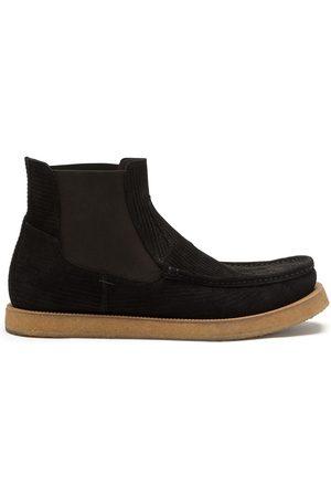 Dolce & Gabbana Corduroy suede Chelsea boots