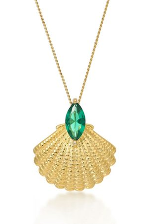 V by Laura Vann Women Necklaces - Pamela 18kt -plated necklace
