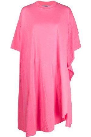 Balenciaga Circle asymmetric draped dress