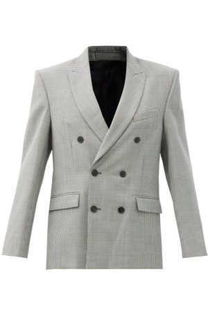 Wardrobe. nyc Women Blazers - Houndstooth-check Merino-wool Twill Blazer - Womens