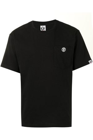 AAPE BY A BATHING APE Men T-shirts - Pocketed logo-patch T-shirt
