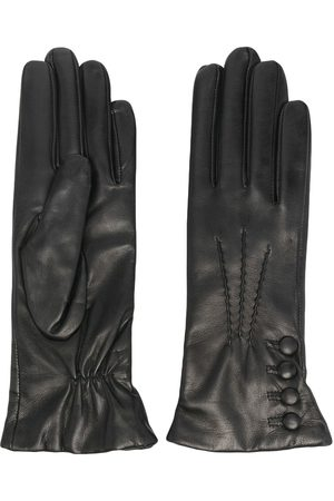 Dents Evelyn cashmere-lined leather gloves