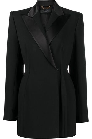 VERSACE Double-breasted tailored blazer