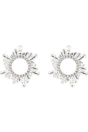 Amina Muaddi Begum crystal earrings