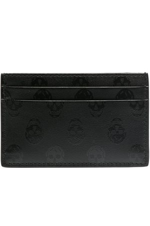 Alexander McQueen Skull-print cardholder
