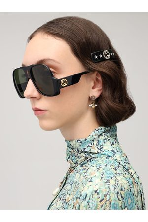 Gucci Original Gg Resin & Crystal Hair Barrett