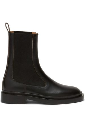 Jil Sander Leather Chelsea Boots - Womens