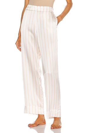 ASCENO The London PJ Bottom in ,Stripes
