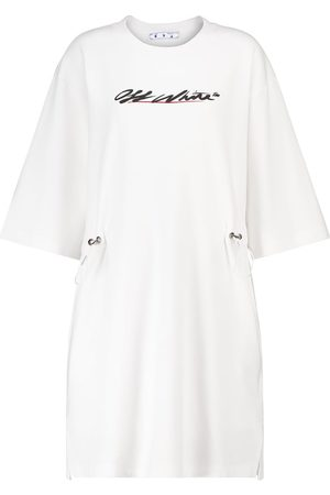 OFF-WHITE Cotton-jersey minidress