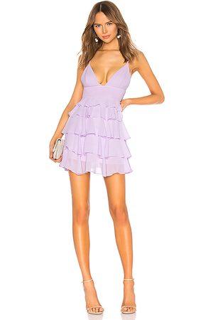 NBD Roxanne Mini Dress in Lavender.