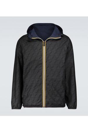 Fendi X K-Way windbreaker jacket
