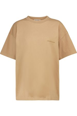 Balenciaga Logo oversized cotton T-shirt