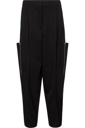 Stella McCartney Liv high-rise wool cargo pants