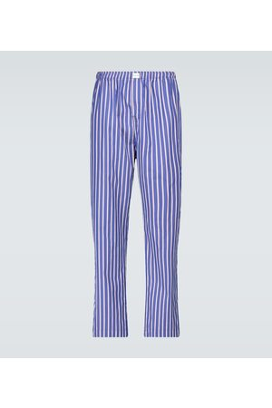 Balenciaga Striped pajama pants