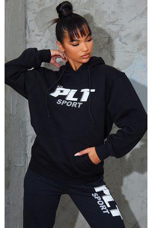 PRETTYLITTLETHING Women Hoodies - Sport Oversized Hoodie
