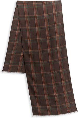 Ralph Lauren Men's Windowpane Wool Scarf