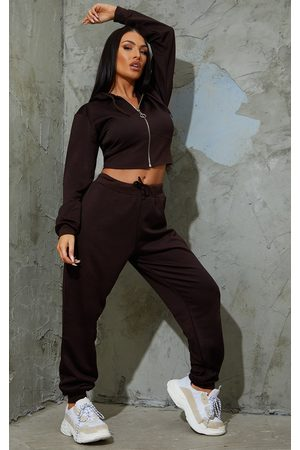 PRETTYLITTLETHING Chocolate Ultimate Sweat Joggers