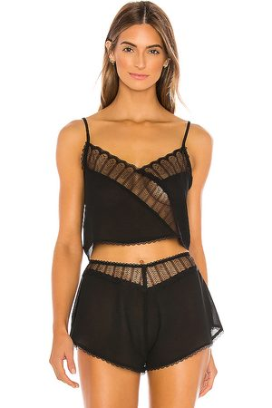 Kat The Label Bonnie Cami in Black.