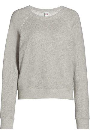 RE/DONE Women's Classic Raglan Crewneck Sweater - - Size XS