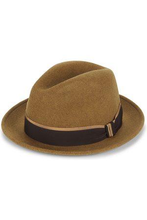 Saks Fifth Avenue Men's COLLECTION Wool Fedora - Camel - Size Medium