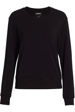 L'Agence Women's Heidi Crew Sweatshirt - - Size Medium