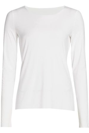 Wolford Women's Aurora Pure Long-Sleeve Top - - Size Small