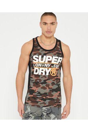 Superdry Men Tank Tops - Trophy Camo Vest