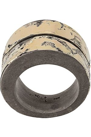 PARTS OF FOUR Rings - Crevice thick-band ring