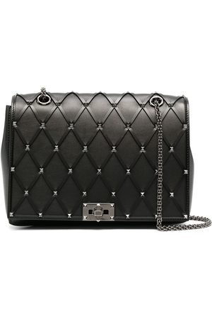 VALENTINO GARAVANI Studded leather shoulder bag
