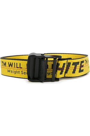 OFF-WHITE Belts - Industrial logo belt