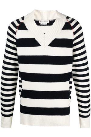 Alexander McQueen Striped jumper - Neutrals