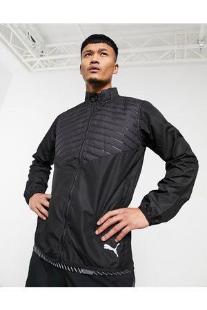 PUMA Running zip through puffer jacket in