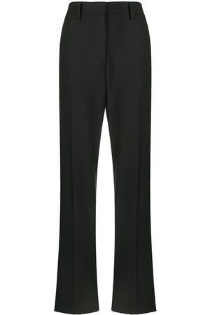 OFF-WHITE High-waisted tailored trousers