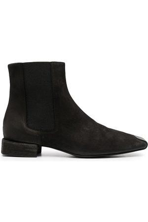UMA WANG Square toe ankle boots