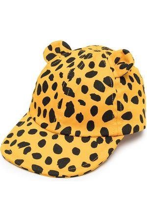 Stella McCartney Caps - Animal-print ears cap