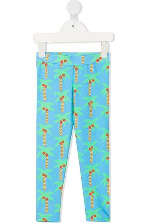 Stella McCartney Palm-tree print leggings