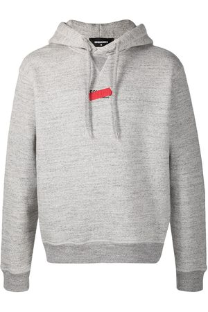 Dsquared2 Logo-print cotton hoodie - Grey