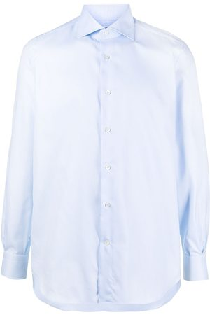 MAZZARELLI Classic collar buttoned shirt