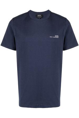 A.P.C. Logo print short-sleeved T-shirt