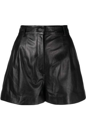 Dolce & Gabbana Lambskin shorts