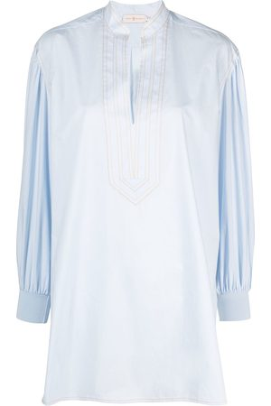 Tory Burch Contrast-stitch tunic