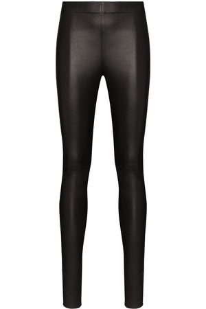Joseph High waist leather leggings