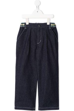 Familiar Loose dark-wash jeans