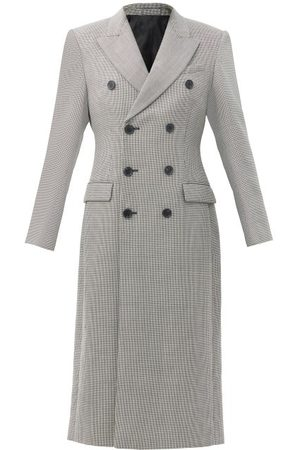 WARDROBE.NYC Women Coats - Wardrobe. nyc - Release 05 Double-breasted Merino-wool Coat - Womens