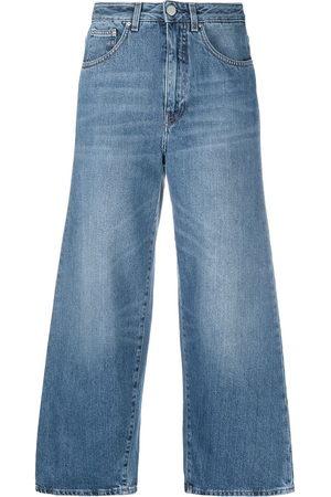Totême Women Wide Leg - Cropped wide-leg jeans