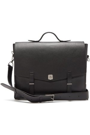 Métier Rider Grained-leather Briefcase - Mens